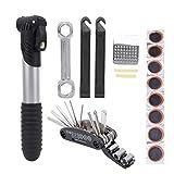 Herramientas de reparación de neumáticos Kits de Herramientas para Bicicletas Amantes del Ciclismo Actividades al Aire Libre