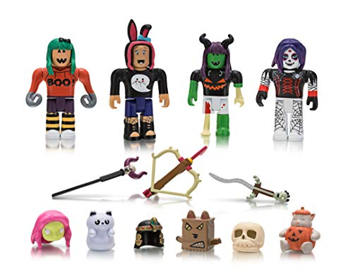 Roblox Celebrity Collection Mischief Night Mix Match Set - pictures of roblox characters with grid