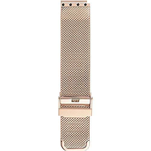 BERING Unisex Erwachsene Edelstahl Uhrenarmband PT-15540-BMVX