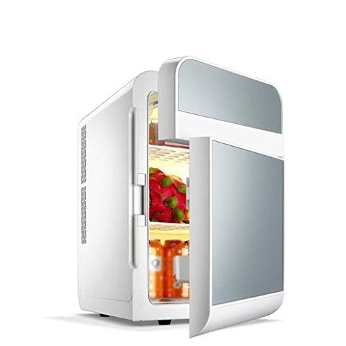 Peaceip Refrigerador del coche 20L Refrigerador dual del coche Mini refrigerador Refrigerador pequeño de la puerta del doble del hogar del coche residencial doble del uso casero