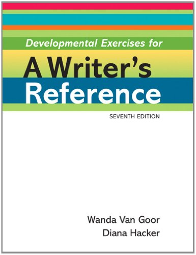 Developmental Exercises for A Writer's Reference