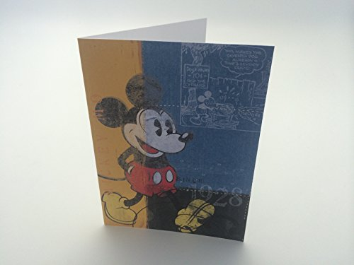 Pack of 20 Disney Mickey Mouse Note Cards and Envelopes