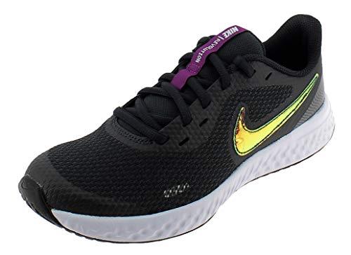 NIKE Revolution 5 Power Zapatos Deportivos para Nina Negro CW3263001