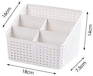 DSWSSH Decorative Jewelry Boxes Cosmetic Storage Box Cosmetic Storage Box Cosmetic Storage Box Cosmetic Storage Box DSWSSH (Color : White)