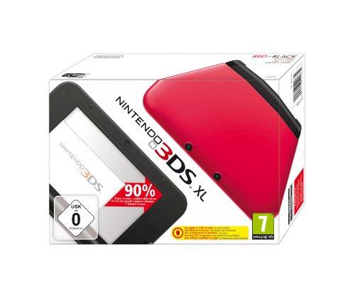 Nintendo 3DS XL - Konsole, rot/schwarz