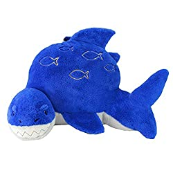 Sweet Seats Shark Reading Cushion, Lightweight and Portable Shark Bed Rest Pillow, Perfect for Ages 2+.