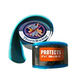 Thorn Buster, Inner Tube Protecting, Bicycle Tire Liner - Stop Flats for Road Bikes Using Orange 27 x 1, 700c x 23-25 Bike Tires and Tubes with Hard Durometer Center Strip. (1 Liner)