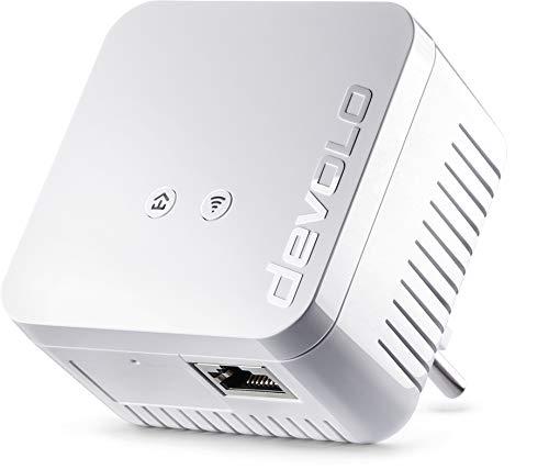 Devolo - Adattatore di rete WiFi Powerline dLAN 550, Ethernet