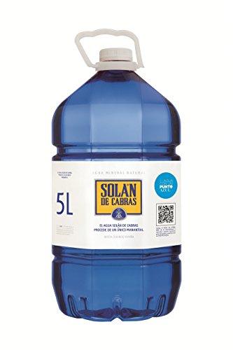 Solán de Cabras Agua Mineral Natural, 5L