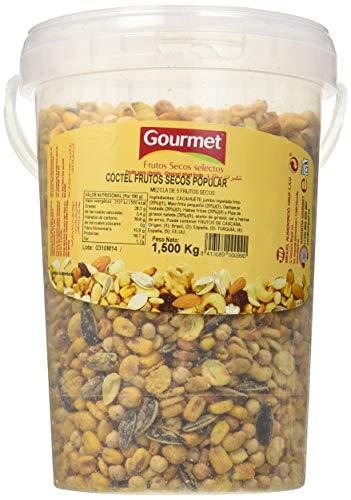 Gourmet - Cóctel frutos secos popular - 1.5 kg