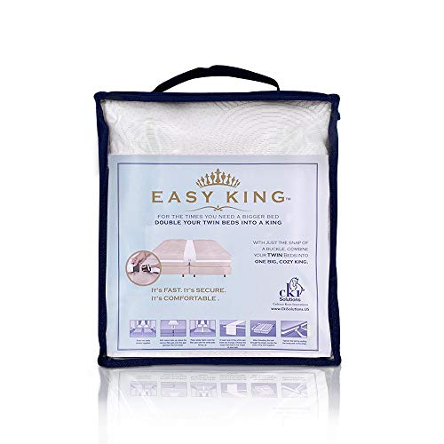 Easy King Bed Doubling System Cama Doble, Multicolor, X-Large
