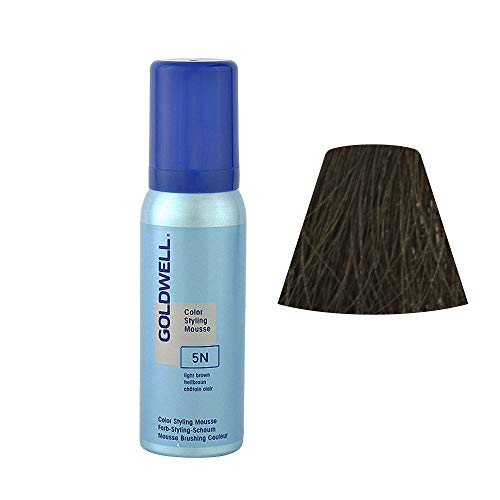 Goldwell - Colorance Color Styling Mousse 5/N hellbraun Color Styling Mousse Nuance 5/N hellbraun - 75ml