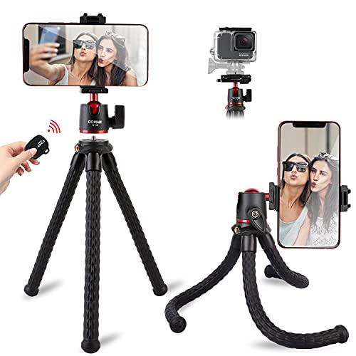 Tripod for iPhone, COMAN Flexible Camera Tripod,...