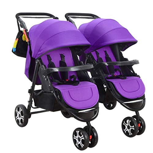 Read About TZZ Double Baby Stroller, Jogging Stroller, Twin Tandem Umbrella Stroller with Adjustable...