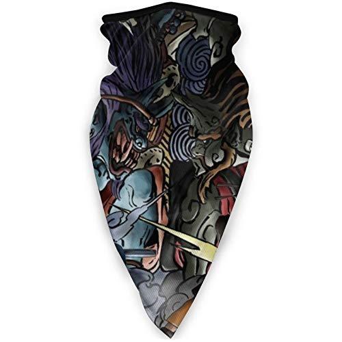 haoking Naruto - Pañuelo triángulo unisex para la cabeza, sin costuras, para correr, montar a caballo, mujeres y hombres