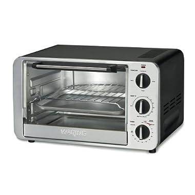 Waring TCO600 1500-Watt 6-Slice Convection Toaster Oven