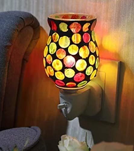 Sense Aroma Calypso Circles elektryczny podgrzewacz wosku sojowego dyfuzor lampa