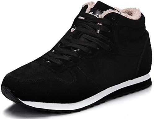 Solshine Unisex-Erwachsene Gefütterte Schneestiefel Sneaker 506 Schwarz 41EU