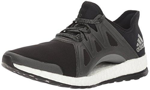 adidas Women's Pureboost Xpose Running Shoe, Black/White/Dark Shale, 11 M US