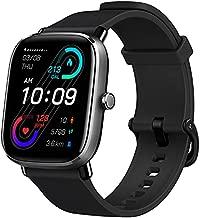 Amazfit GTS 2 Mini Smart Watch GPS Fitness Tracker for Men Women, Alexa Built-in, 14 Days Battery Life, 70+ Sports Modes, Blood Oxygen Heart Rate Sleep Monitor, AMOLED Screen, 5 ATM Waterproof-Black