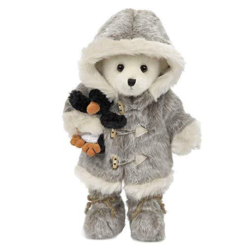 Bearington Iggy and Lou Polar Bear and Penguin, Stuffed Animal Toy, 14'