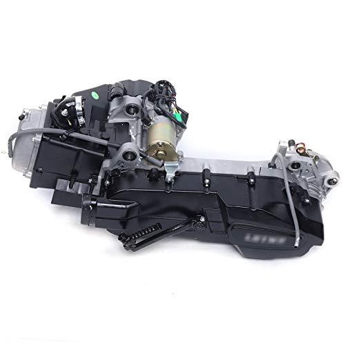 150cc Gy6 Scooter Atv Complete Engine-Kart Dirt Bike with Kick Start Lever Carburetor CDI Starter Solenoid Coil Short Case (Including accessories)