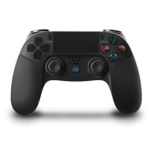 ZIQI Contrôleurs sans Fil Gamepad 2pcs Joystick pour Ps3/ 4/ Pc Controller, Ds4 Dualshock Gaming Joystick avec Contrôleur touchpad de Haute précision pour Ps4