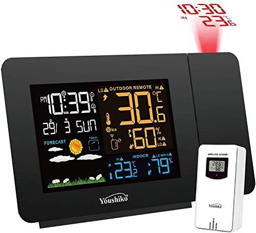Youshiko Radio Control (Official MSF UK Version) Projection Alarm Clock...