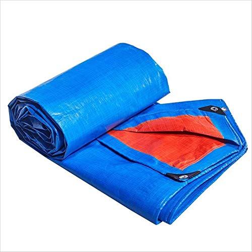 Garden Furniture Covers HUOGUOSHU Lona para Al Aire Libre, 100% Impermeable y Resistente A Los Rayos UV Lona Resistente, Polietileno Tejido de Alta Densidad y Laminado Doble, 8 Tamaños (Size : 6mx8m)