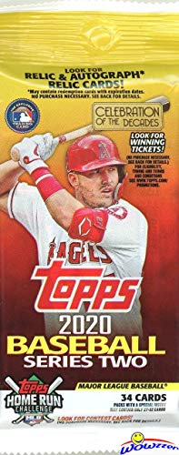commercial 2020 Topps Series 2 MLB Baseball Limited Giant Factory Jumbo FAT 34 Sheets Pack!  … baseball cards to buy right now