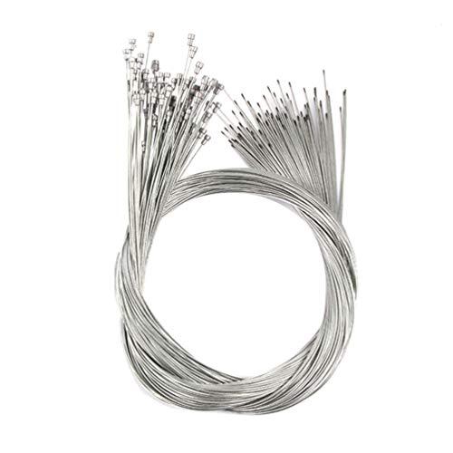 LIOOBO Cable de Cambio de Bicicleta línea de Freno Cables de Engranaje Bicicletas Accesorios de Repuesto para Bicicleta de Carretera de montaña