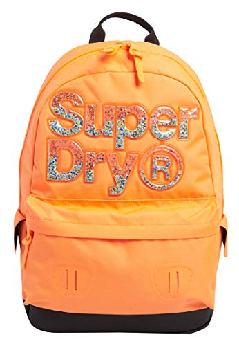 Superdry Womens Aqua Star Montana Rucksack, Havana Orange, OS