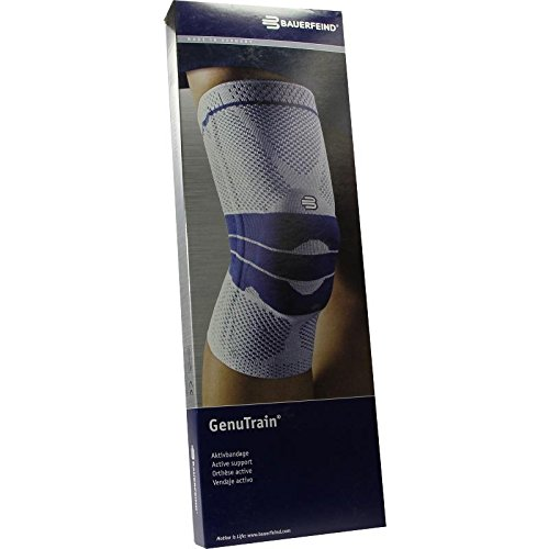 GENUTRAIN Knieband.Gr.4 schwarz 1 St