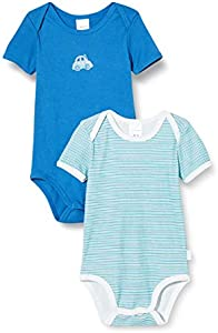 Schiesser Multipack 2PACK Bodies 1/2 Ropa Interior, Surtido 1, 80 cm para Bebés