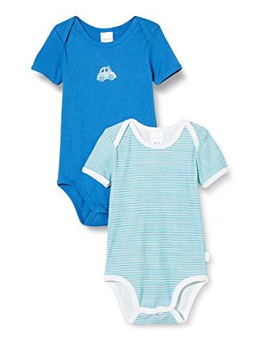 Schiesser Baby-Jungen Multipack 2PACK Bodies 1/2 Unterwäsche, Sortiert 1, 104
