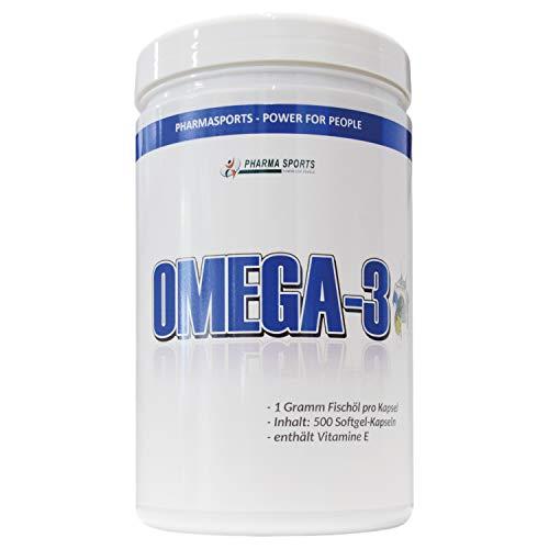 Omega-3-Kapseln-1000mg-360-mg-DHA-540-mg-EPA-500-Kapseln-Big-Dose