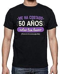 latostadora Camiseta 50 Años para Estar Tan Bueno