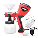 Paint Sprayer, SPTA 600 Watt HVLP Spray Gun, Electric Paint Gun, Home Sprayer Tool for Painting Projects Ideal for Furniture, Fence, Car, Bicycle, Chair etc.