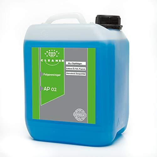Cleanerist 5 Liter Felgenreiniger AP02 für Alufelgen Stahlfelgen säurefrei