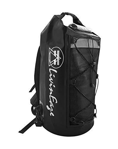 Premium Waterproof Dry Bag Backpack Duffel  40L  Sports Bag Motorcycle Bag Skateboarding Camping Hiking Kayaking Rafting Boating Rock Climbing Hunting Fishing Surfing Electronics Black Myst