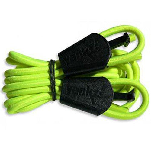 Sistema de cordones Yankz en diferentes colores, color: amarillo neón