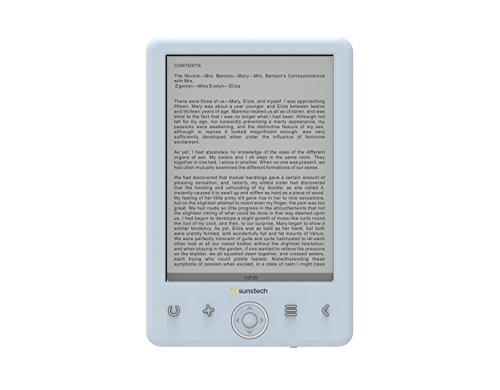 'Sunstech ebi8ltouch–Libro elettronico di 6, 8GB, USB