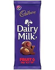 Cadbury Dairy Milk Chocolate With Raisins And Almonds, 100 gm