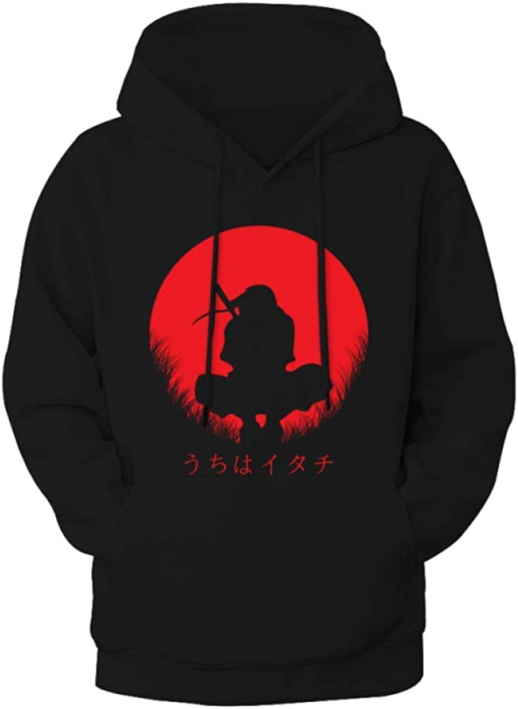 Boys Girls Japan Itachi Uchiha Ninja Hoodies Sweatshirt for 7-13 Yrs Old