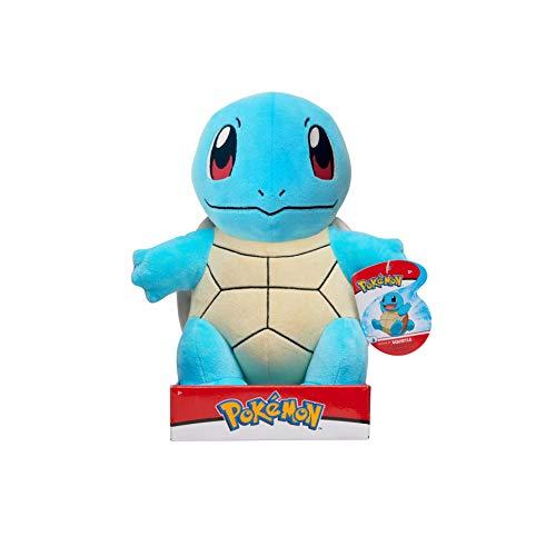 WCT Pokémon Peluche Squirtle 30 cm, Nuovi Giocattoli Pokemon 2021, Licenza Ufficiale Pokemon