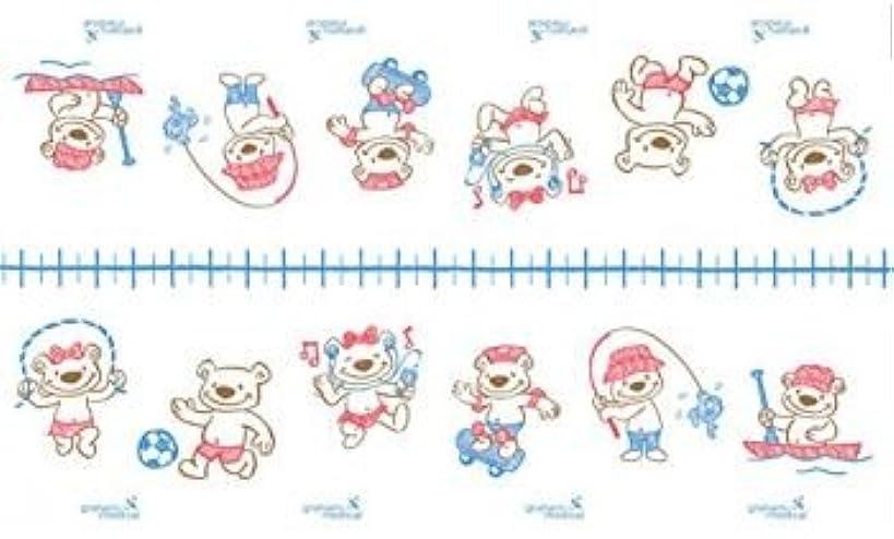 Graham Medical 085 Activity Bears Quality Pediatric Printed Exam Table Paper, Crepe, 18