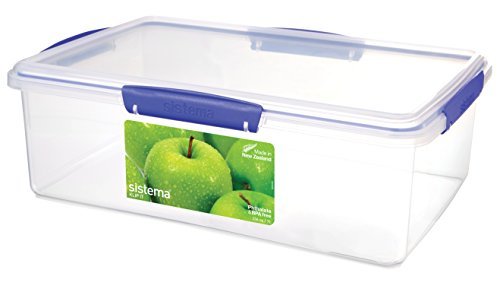 Sistema KLIP IT Rectangular Collection Food Storage Container,236 Oz