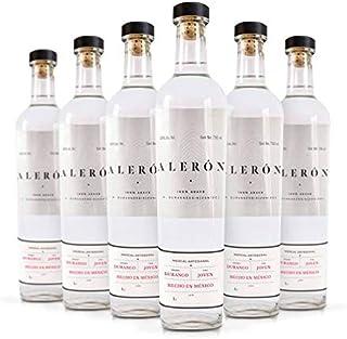 Mezcal Alerón Agave Cenizo 750 ml   Caja de 6 botellas