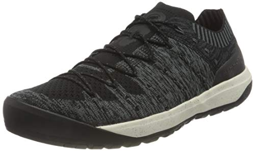 Mammut Herren Hueco Knit Low Men Traillaufschuh, Black-Titanium, 43 1/3 EU