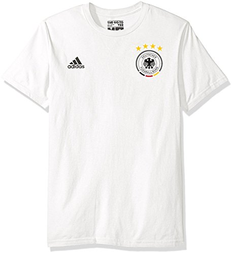 adidas Mesut Ozil Germany World Cup Men's White Name and Number T-Shirt Medium